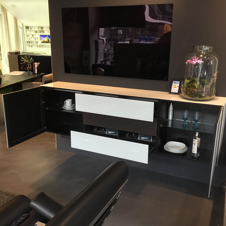 Lowboard Kombi mit aktivem Sound-System