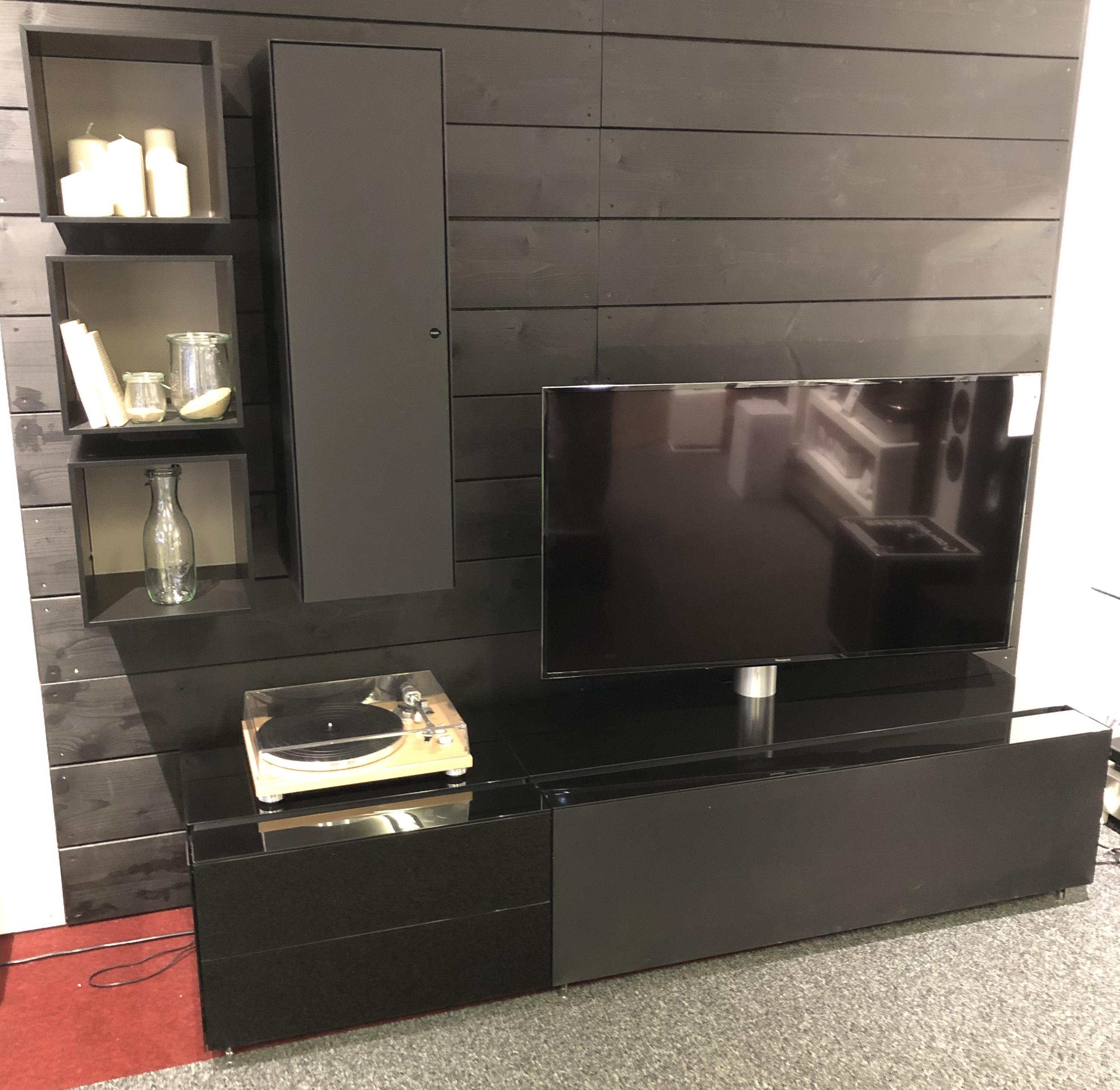 TV Möbelkombination für Sound mit Hängeschränken