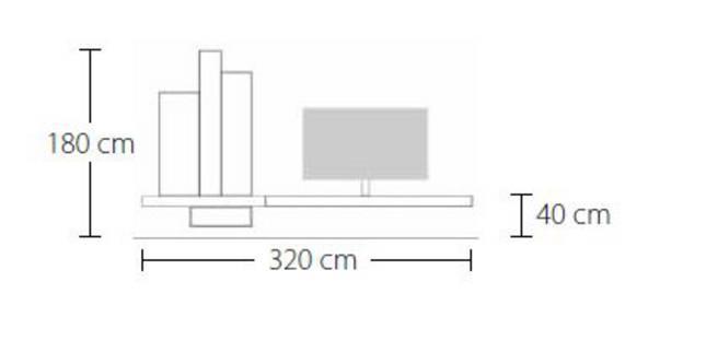 TV Wohnraum Kombination P06