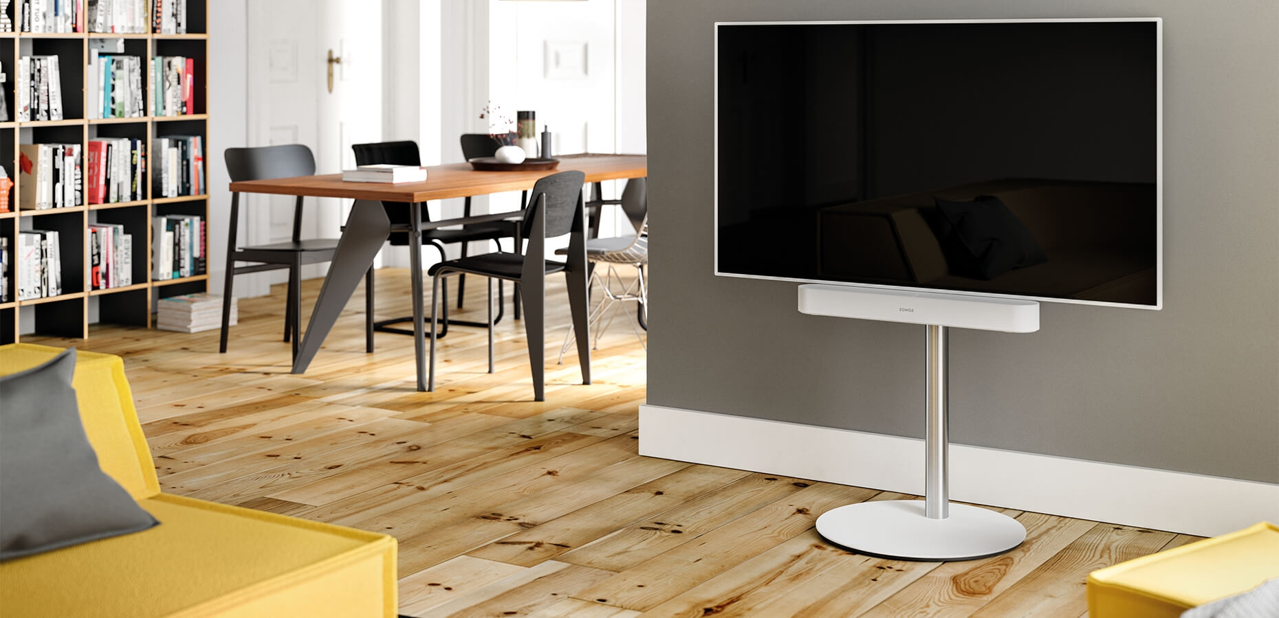 Spectral Circle tv-stand design