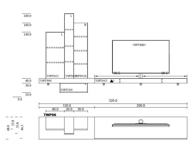 Twenty TWP-06 inkl. Soundsystem XTA1