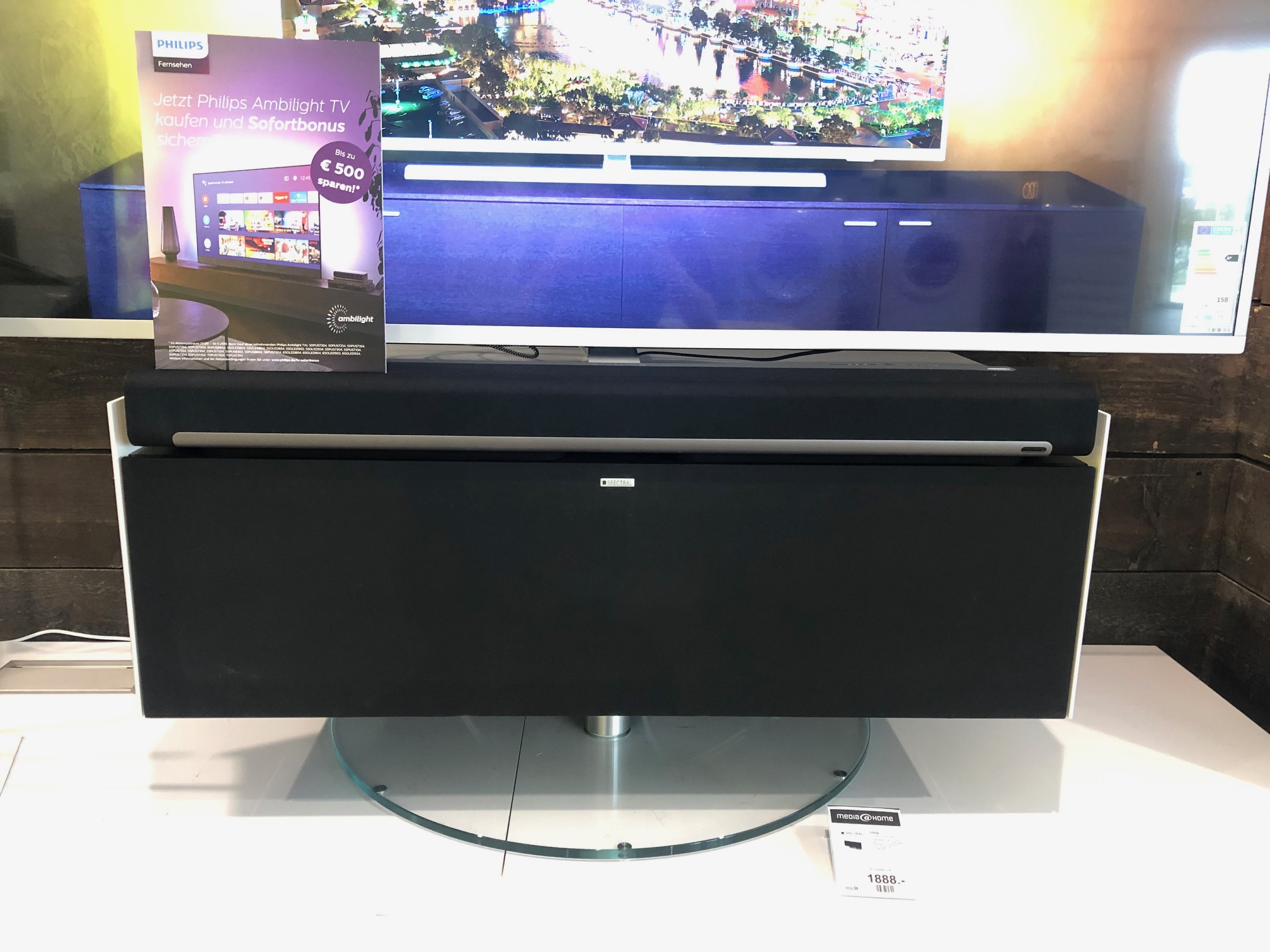 Spectral TV Rack