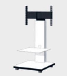 Hochwertiger TV Stand, inteligente Kabelführung & rollbar