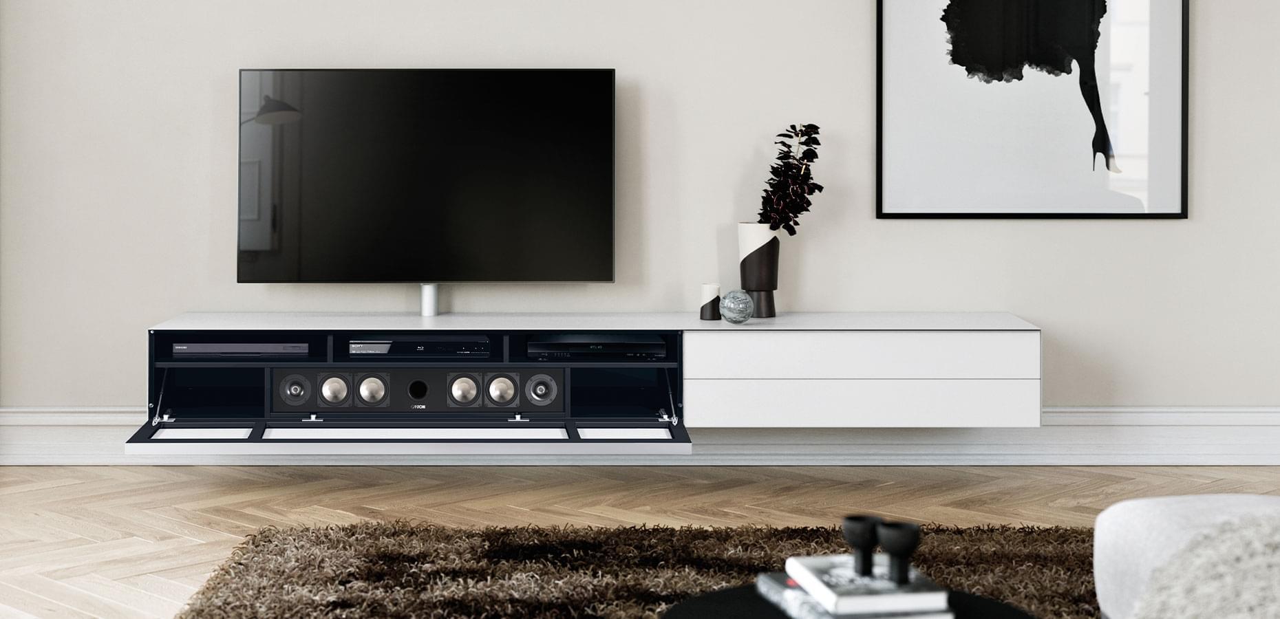 Spectral soundbar tv-cabinet