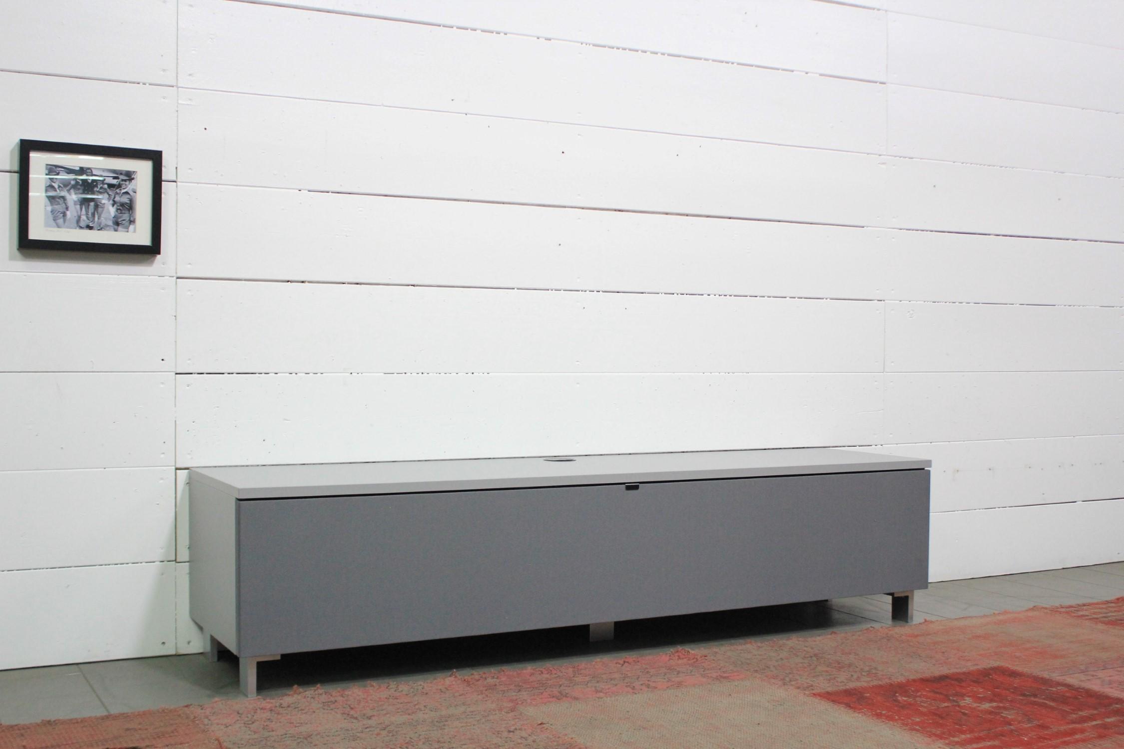 JRB1604-GR Lowboard für Soundbar Integration inkl. Soundbarhalterung