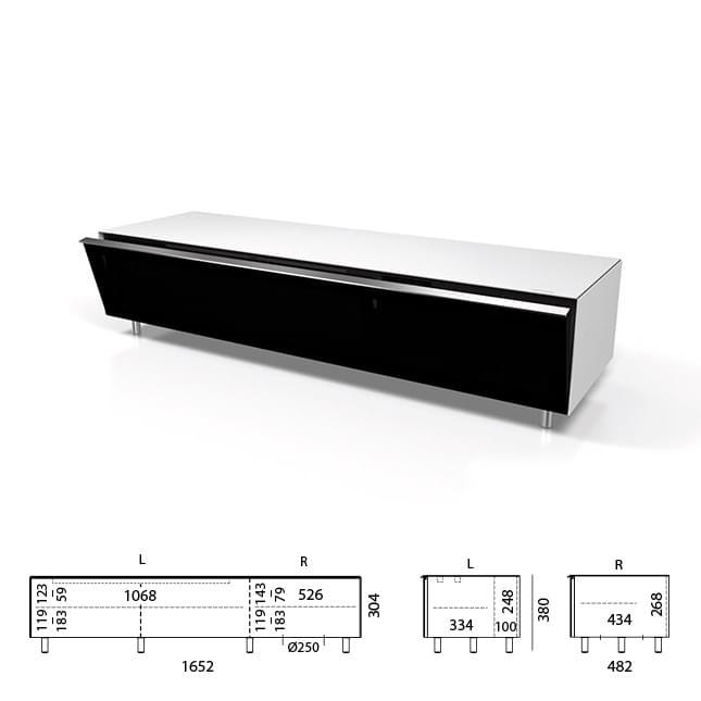 SC1652-SNG zur Soundbar & Subwoofer Integration