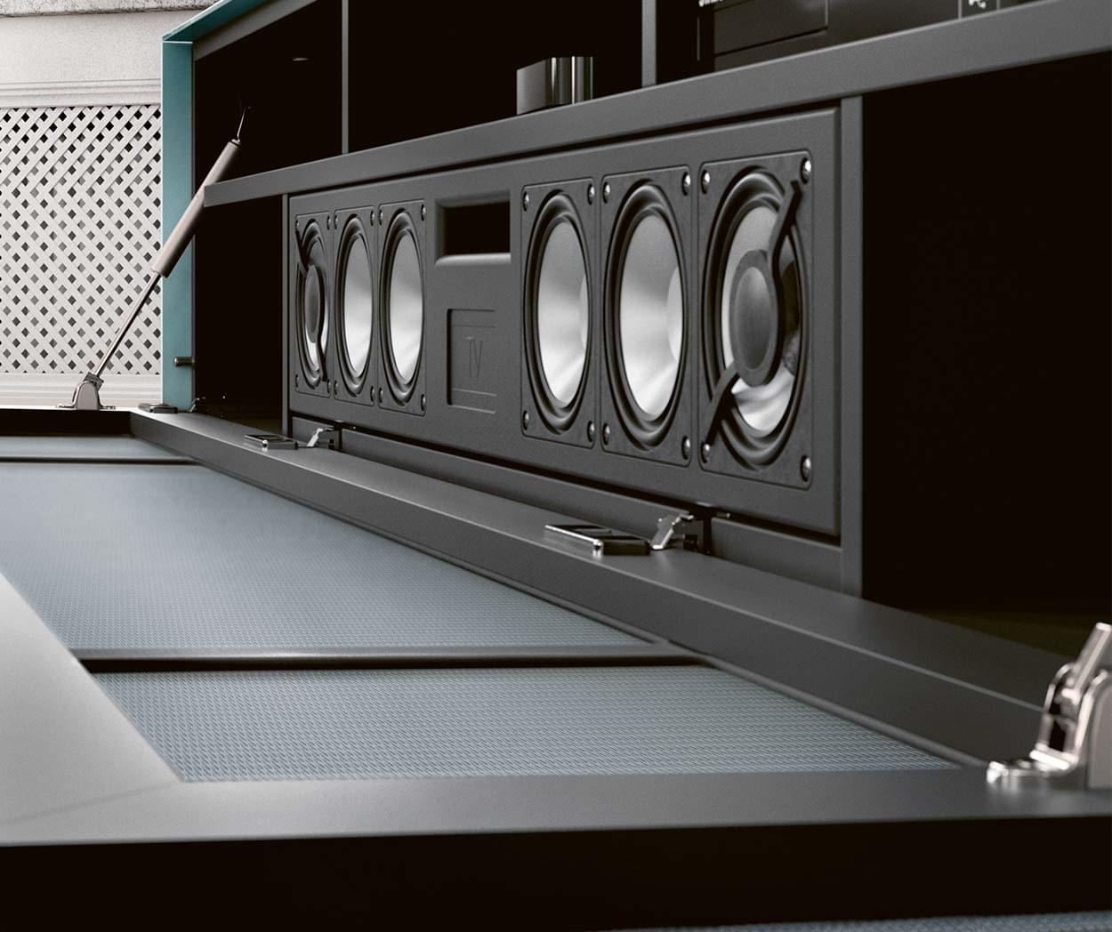 Spectral Scala BRA2 soundsystem