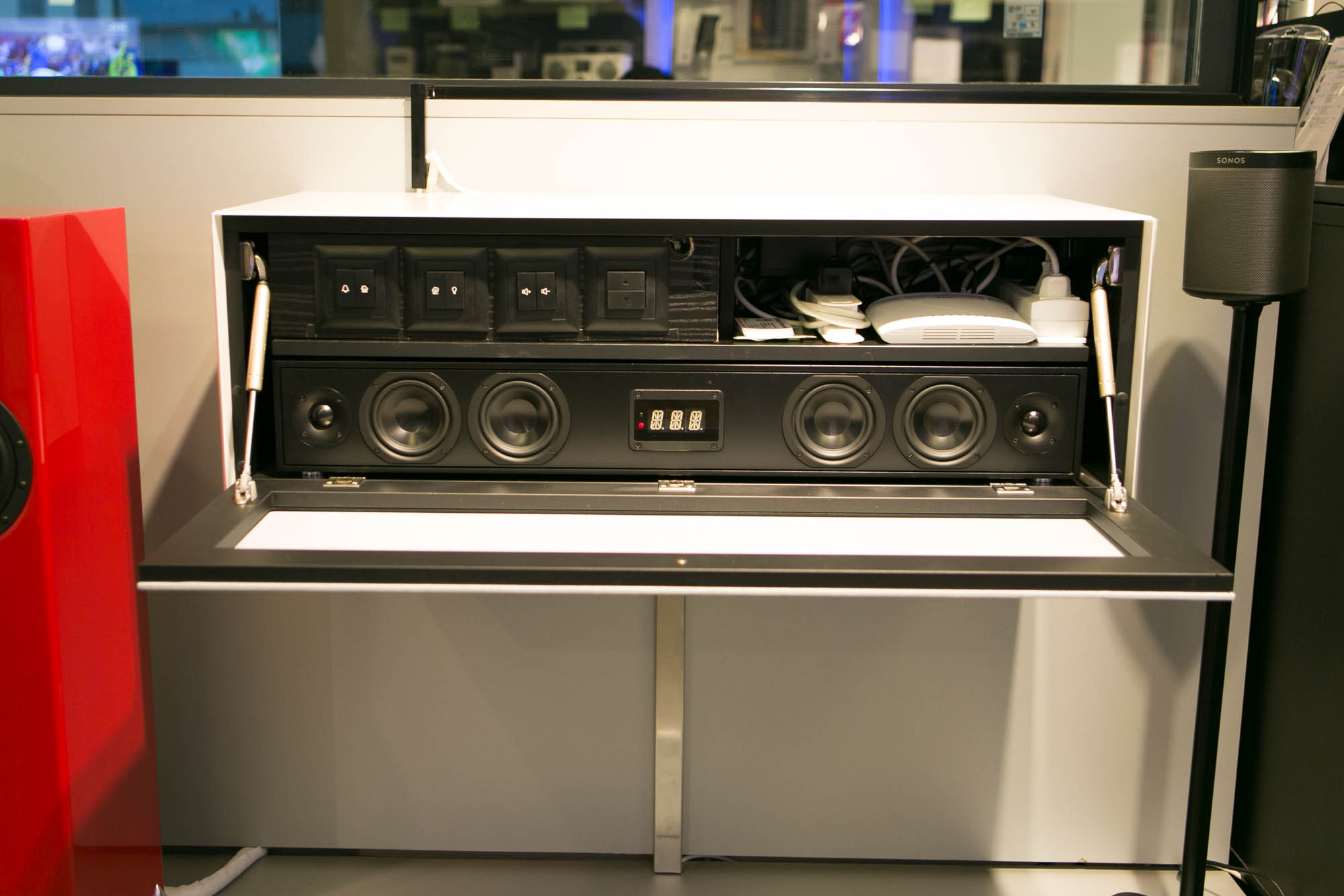 Hängemöbel SMB1 + SCA1 Soundsystem